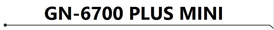 تحديث جديد لجهازGN-6700 PLUS MINI HD بتاريخ 2019/08/25*